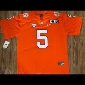 Clemson Tigers Tee Higgins Football Jersey
